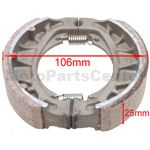 Brake Shoe for 2-stroke 50cc Moped & Scooter