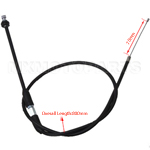 "31.5"" Throttle Cable Shifter with adjustment for 50cc-125cc ATV"