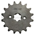420 16-Tooth 17mm Engine Sprocket for 50cc-125cc ATV, Dirt Bike