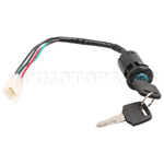 4 wire Key Ignition for ATV & Dirt Bike