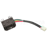 Voltage Regulator for CG 125cc-250cc & GY6 50cc-150cc ATV, Dirt