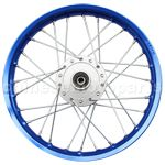 1.40*14 Front Rim Assembly for 50cc-125cc Dirt Bike (Oxidized)